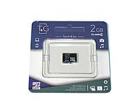 Карта памяти microSD, 2Gb, T G, без адаптера (TG-2GBSD-00)