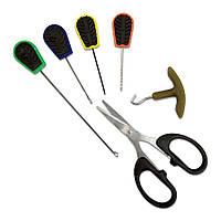Набор инструментов Lineaeffe 6 предметов (спицы, сверла, ножницы, затягиватель узлов)