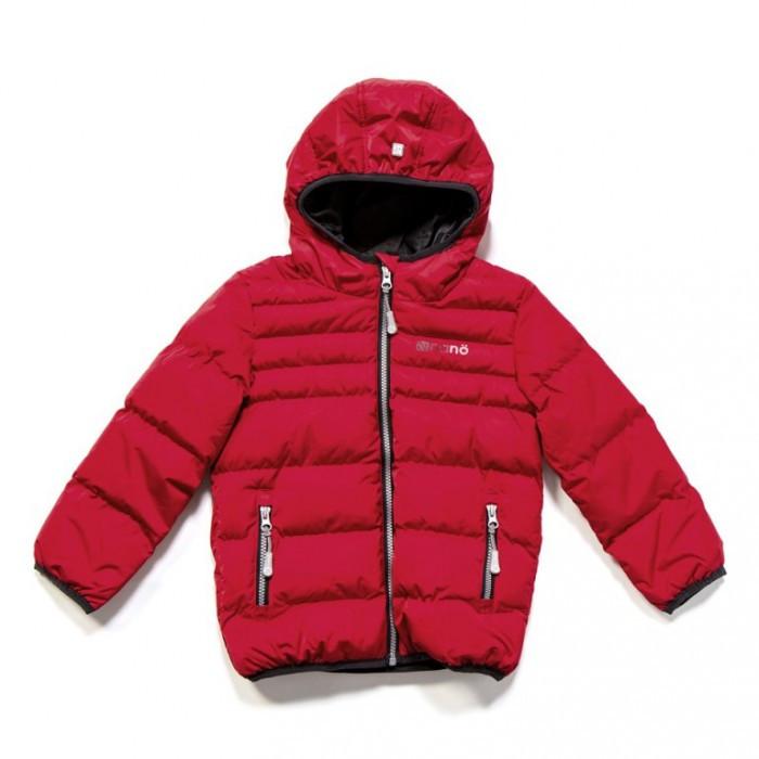 Куртка демисезонная стеганная для мальчика F17 M 1251 Salsa Red  NANO