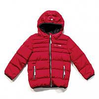 Куртка демисезонная стеганная для мальчика F17 M 1251 Salsa Red  NANO, фото 1