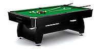 Бильярдный стол Hop-Sport VIP Extra 7FT black-green