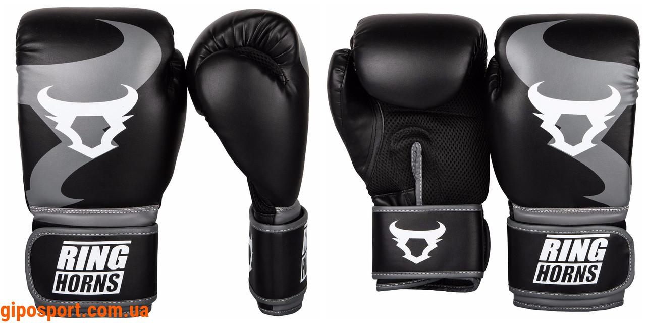 Боксерские перчатки Ringhorns Charger Black 14oz