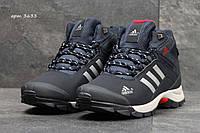 Зимние ботинки Adidas -нубук,мех искусственный,подошва резина,носок и пятка усилены  размеры:41-46 Индонезия