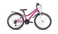 Горный подростковый велосипед для девочки Intenzo Princess 24 (2018) new
