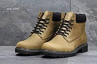 Зимние ботинки Timberland -натур.кожа(нубук),мех искусственный,подошва резина(прошиты)  размеры:41-46