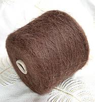 Супер кид мохер 50%, нейлон 50%, коричневый. Igea astro