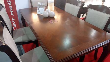 Стол обеденный деревянный для гостиной Вена (Відень) Sof, цвет орех, фото 2