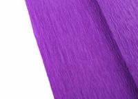 Креп-бумага гофрированная 50 х 250 см., фиолетовая