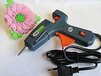Клеевой пистолет для стержней 7 мм, с кнопкой. Отличное качество!, фото 1