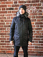 Мужская зимняя парка-куртка ALL Real Herringbone