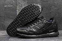 Зимние кроссовки Adidas Zx 750 -пресскожа,мех искусственный,подошва пенка,  размеры:41-46