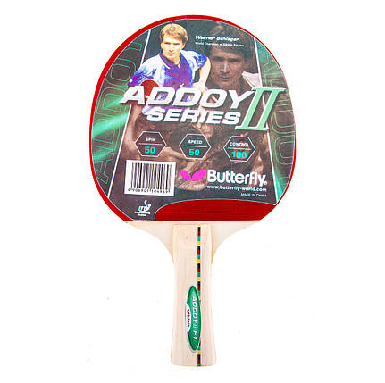 Ракетка для настолького тениса Batterfly Addoy 2 F1, фото 2
