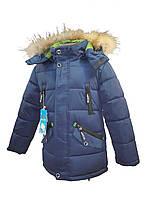 Зимняя куртка НС10 на 100% холлофайбере размеры 122-146