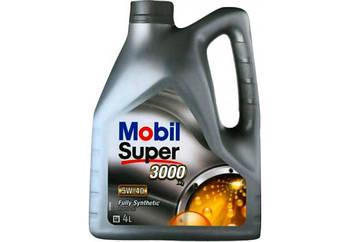 Моторное масло Mobil Super 3000 X1 5W-40 4л