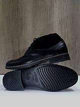Мужские ботинки демисезонные Lioneli 3501 из натуральной кожи., фото 3