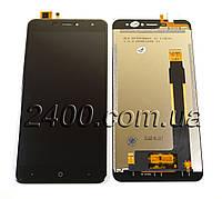 Сенсор +дисплей, модуль  Doogee X7 Pro черный