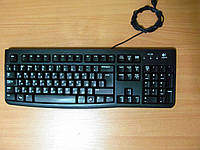 Клавиатура Logitech K120 USB черная