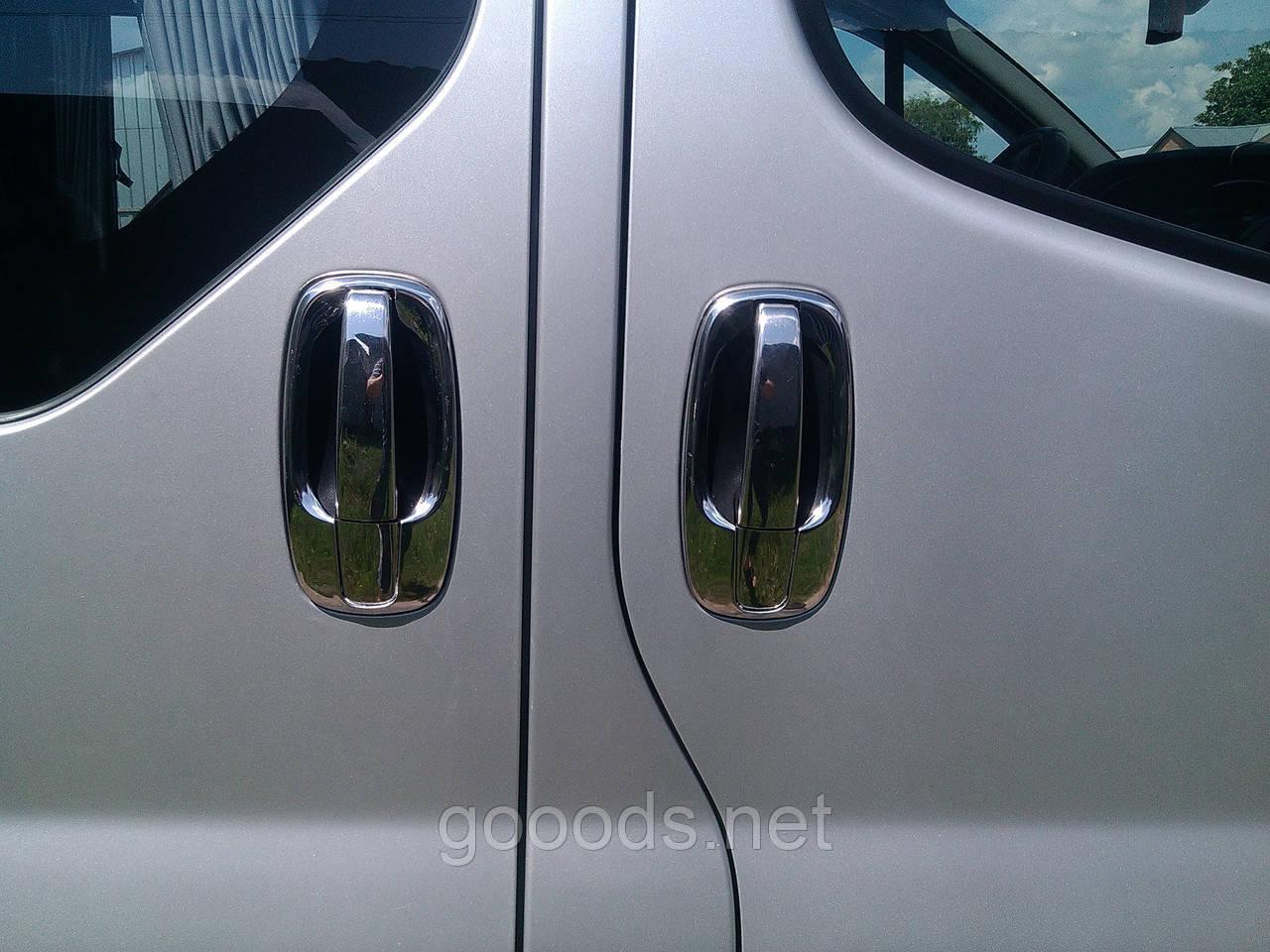 Накладки под ручки дверей Renault Trafic