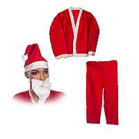 Костюм Санта Клауса для мальчика 10-13 лет