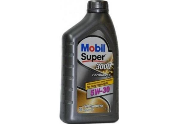 Моторное масло Mobil Super 3000 Formula FE 5W-30 1л