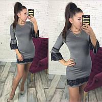 Платье / французский трикотаж / Украина