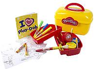 Набор для творчества Play-Doh АРТ-САКВОЯЖ маркеры, восковые карандаши, краски, аксес. (CPDO013-PE)