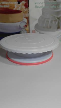 Столик подставка для торта вращающийся, фото 2