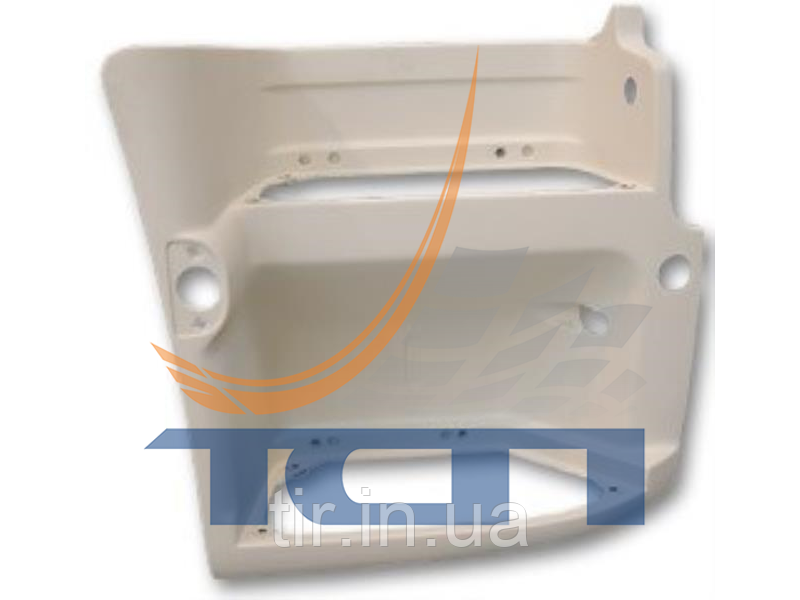 Подножка правая (белый пластик) PREMIUM 2 2005>/PREMIUM 3 T520034 ТСП