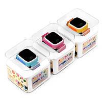 Часы наручные детские GW 100 (Q90), GPS -  цветной дисплей, torch screen