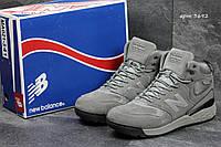 Зимние ботинк кроссовки  New Balance -Замша натур.,подошва резина(носок прошит,мех искусственный,размеры:41-46