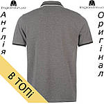 Поло Pierre Cardin мужское серое, фото 2