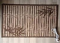 Жаккардовый коврик с подогревом 60*100