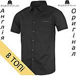Рубашка мужская Pierre Cardin черная на короткий рукав, фото 2