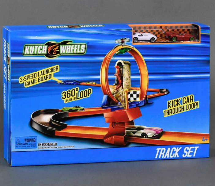 Автотрек детский.Игровой набор автотрек для мальчиков.Детские игрушки машинки.