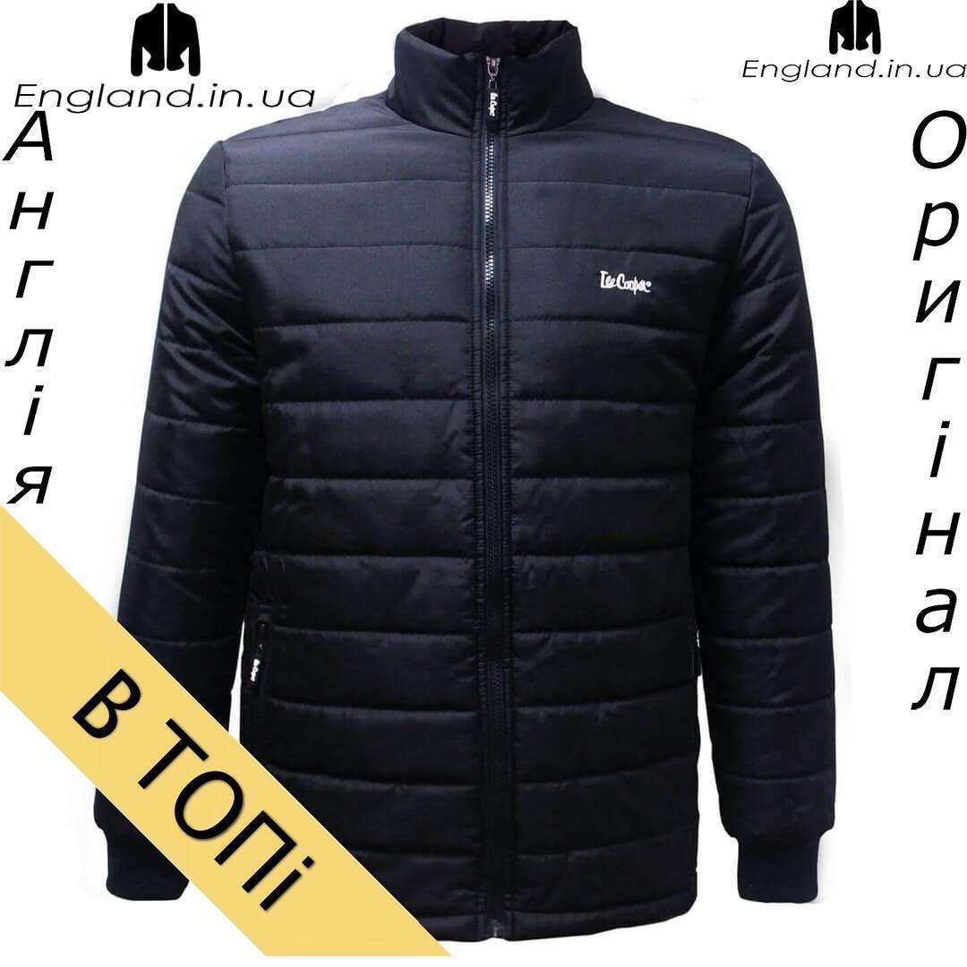 Размер S --- Куртка Lee Cooper осенне-зимняя мужская черная