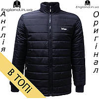 Куртка Lee Cooper осенне-зимняя мужская черная | Куртка чоловіча Lee Cooper осінньо-зимова