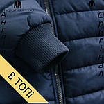 Размер S --- Куртка Lee Cooper осенне-зимняя мужская черная, фото 7