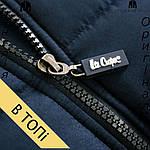 Размер S --- Куртка Lee Cooper осенне-зимняя мужская черная, фото 3