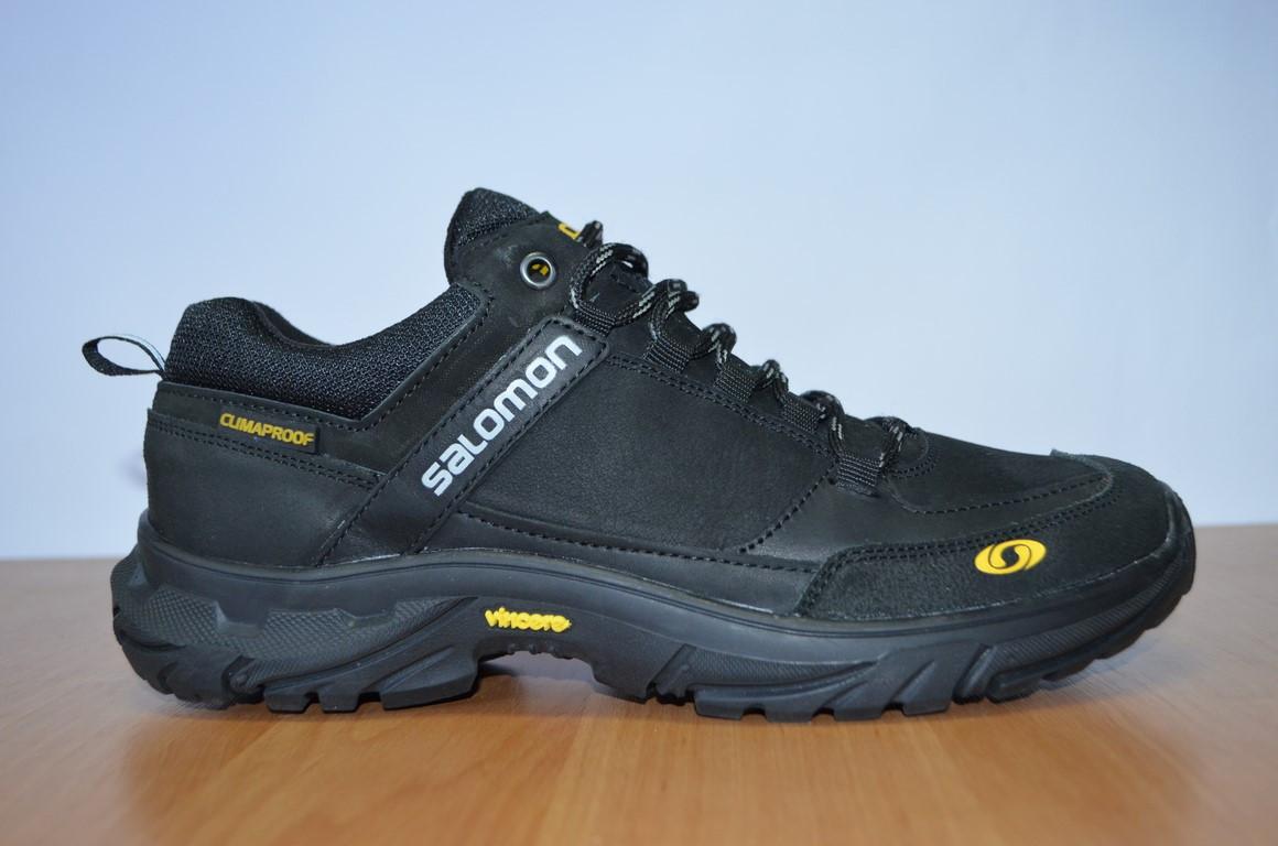Кожаные кроссовки Salomon.Мужские кроссовки.Натуральная кожа ... f5ccbe875fb