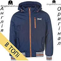 Куртка Everlast осенне-зимняя мужская синяя | Куртка чоловіча Everlast осінньо-зимова