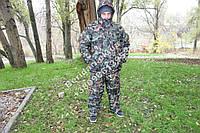 """Зимний костюм для охоты и рыбалки """"хвоя зел"""",повседневного ношения ,- 30  гр ,водоотталкивающий ,непродуваемый"""