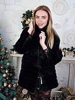 Женский норковый полушубок шуба 42 44 размера