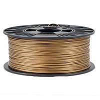Филамент пластик PLA 1кг 1.75мм Sallen для 3D-принтера, бронзовый