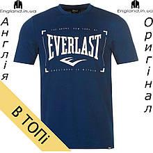 Футболка Everlast мужская темно синяя для тренировок | Футболка Everlast чоловіча темносиня для тренувань
