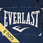 Остался размер - S --- Футболка Everlast мужская темно синяя для тренировок , фото 3