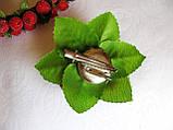 Брошь-заколка с ягодами калины сахарной 40 грн, фото 2