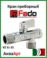 Fado кран приборный  угловой с фильтром NEW 1/2''х1/2''