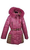 Зимняя куртка 14-23 на 100% холлофайбере размеры  128 см 140 см 146 см, фото 1