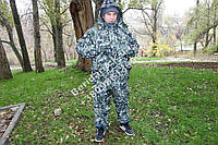 """Зимний костюм ,комбе для охоты и рыбалки """"пиксель светлый """",повседневного ношения ,- 30  гр ,водоотталкивающий"""