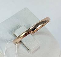 Кольцо обручальное золотое 585 пробы, арт.3285 d